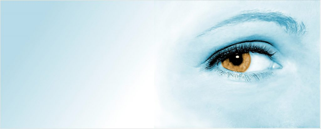 A woman's eye - building your online presence - awareness