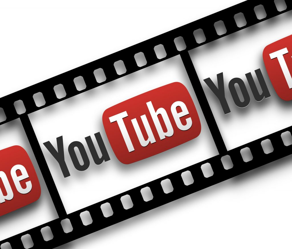 YouTube filmstrip graphic