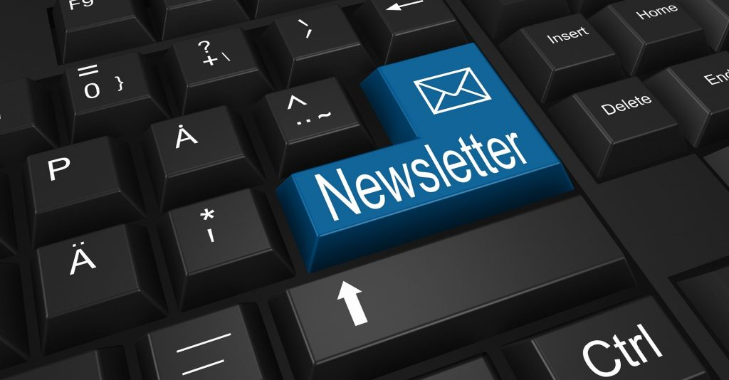 Building your online presence - leads - newsletter lead magnet