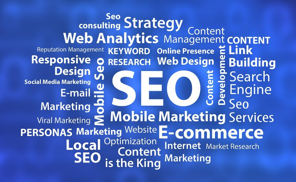 SEO's role in building your online presence. Various SEO tasks and terms.