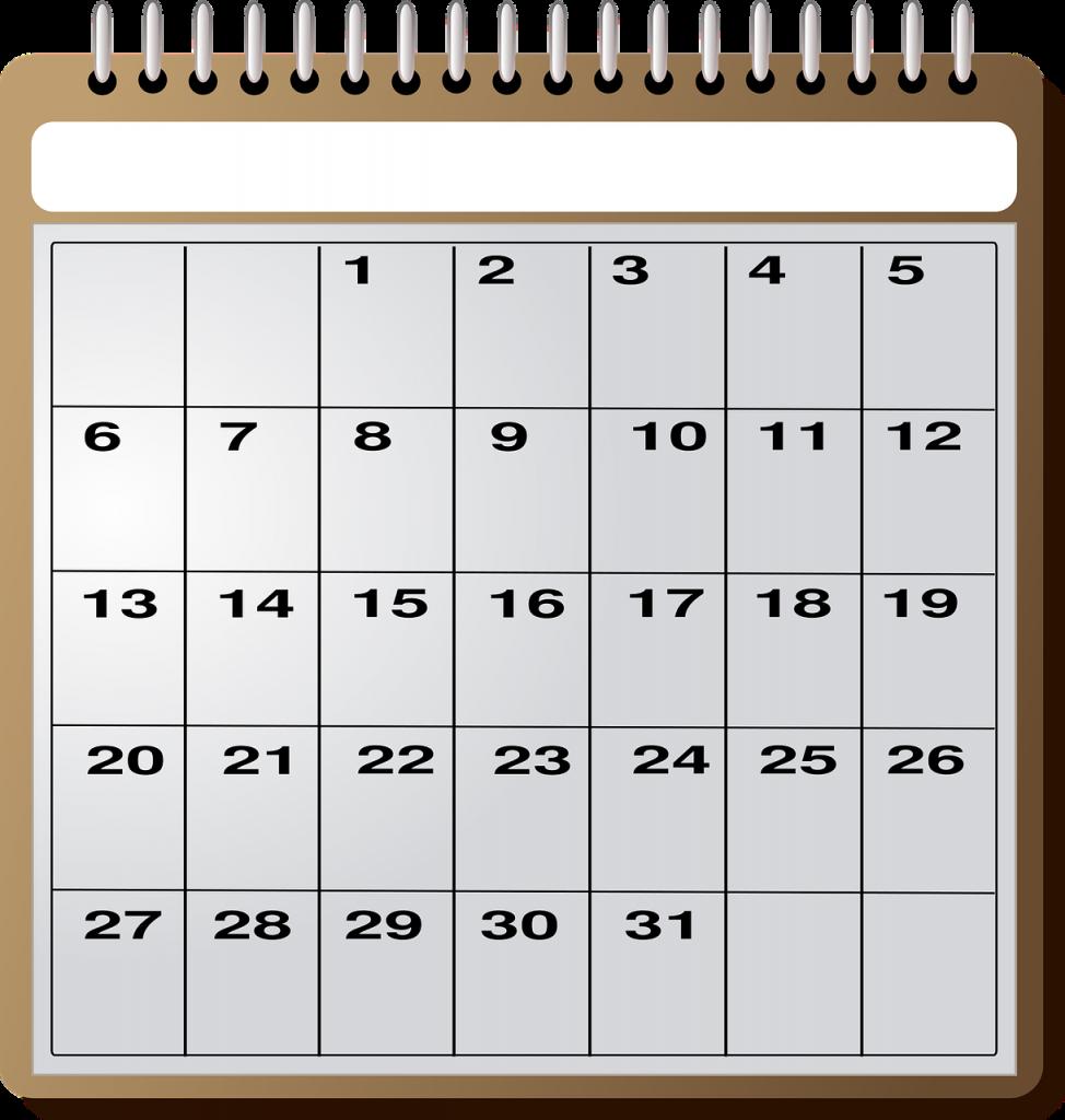 Calendar - Content Marketing Schedule